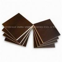 Buy cheap High grade shuttering board for construction materials from wholesalers