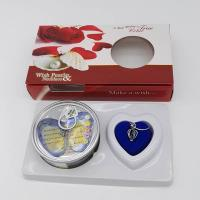 China Nature Freshwater Pearl English Version Wish Pearl Necklace Gift Box Sets on sale