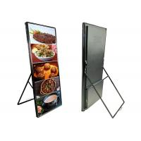 China P4 Indoor Poster Led Display Removable Chain Store Products Promotion on sale