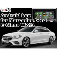 Quality Mercedes benz E class android car navigation box mirrorlink gps navigation for car for sale