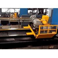 China Stable performance servo motor tube cold cut flying saw machine for metal forming on sale