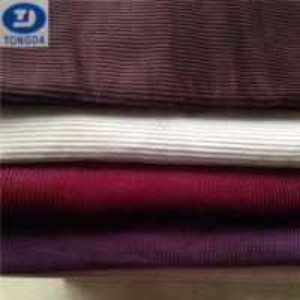 Quality 12x16 64*134 8wale cotton corduroy fabric garment for sale