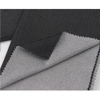 Quality Stretch Cotton Like Twill Circular Knit Fabric Customized Color For Leisure Clothes for sale