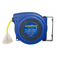 Buy cheap 125 Volt 13 Amp 3 Core Compact Goodyear Hose Reel With Reset Button product