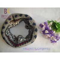 China Polyester Knitted Neck Warmers For Winter , Crochet Neck Warmer on sale