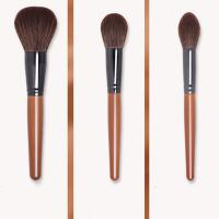 Quality Compact Travel Makeup Brushes , Full Face Makeup Brush Set Free Samples for sale