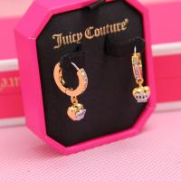 China Fashion brand jewelry Juicy Couture earring silver&gold color china jewellery wholesale on sale