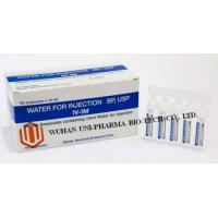 Buy cheap Western Medicine Sterile Water Injection Medicine BP / USP Diluent for solvent or injection of sterile powder product