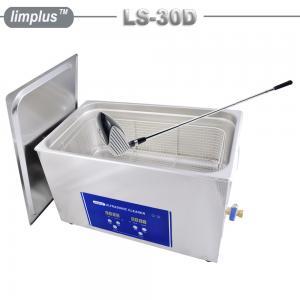 China Golf Club Grip Ultrasonic Washing Machine , Household Ultrasonic Cleaner Large Capacity 30 Liter on sale