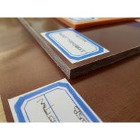 Quality 90 - 110Mpa Flexural Strength Colored Plastic Sheet for PCB / ICT Fixture,Brown Color for sale