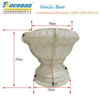 Quality flower pot mold for concrete products for sale