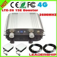 Buy cheap 1 SET LTE-26 15E 4G 2600mhz booster 4G mobile phone signal repeater with panel from wholesalers