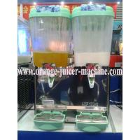 Quality Commercial Stainless Steel Fruit Juice Dispenser 18 Liter With Imported Compressor for sale