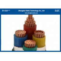 Quality 0.6/1KV Low Smoke Zero Halogen Cables Four Cores Armoured IEC 60502 Standard for sale