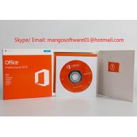 China Multi - Language Microsoft Office Retail Version 2016 Pro Plus Retail Box DVD Online Activation on sale