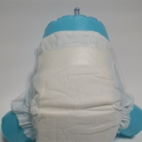 Quality Non Woven Cotton Hydrophilic Baby Diapers Medium Size Diaper Pants for sale
