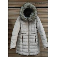 China Breathable White Womens Reversible Padded Parka Strong Wear Resisting on sale