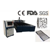 Quality 1530 Metal Fiber Laser Cutting Machine , Industrial Laser Cutter For Stainless Steel for sale