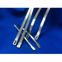 Buy cheap Width 10mm Releasable Stainless Steel Cable Ties For Shipbuilding Industry from wholesalers