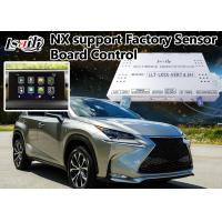 Quality Lexus Nx Car Video Interface , Android Navigation Box Two In One Unit Including Miracast for sale