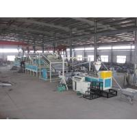 China PVC Plastic Board Production Line For Carpet , Plastic Sheet Extrusion Line on sale