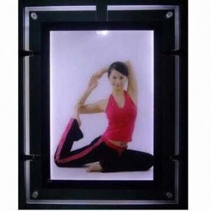 Quality Fashionable Acrylic LED Light Panel, Frame, Box for sale