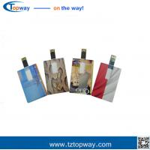 China Flash drive custom logo 1gb~32gb ultra slim credit card usb stick for promotional gift on sale