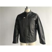 Quality Waterproof Dark Brown Mens PVC Jacket S M L XL Size Fashion Design DOCO1720 for sale