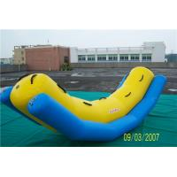 Quality Swimming Pool Inflatable Water Games Equipment Inflatable Banana Boat For Rides for sale
