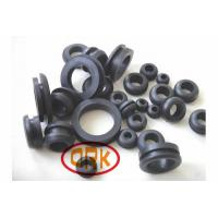 Pipe NBR / Silicone Rubber Grommets , Waterproof Grommet Seal ROHS FDA