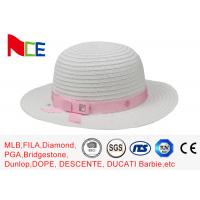 Buy cheap Summer Knitted Fisherman Bucket Hat Flat visor For Women Sunshade from wholesalers