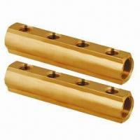 Quality Brass Manifold for Underfloor Heating and Water Separators, Brass/Nickle Plated or Customized for sale