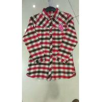 Quality wholesale in stock cheap women's clothes full sleeve plaid shirts casual lady's garments stock lots 3 colors  full szie for sale
