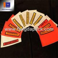 Customized Self-Adhesive Packing List Envelope