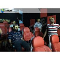 China Luxury Electric System 5d Movie Theatre 2DOF Motion Seats For Shopping Mall on sale