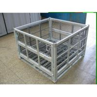 Quality Logistics Racks Trolleys Large Storage Containers Cold Galvanized Packaging Systems for sale