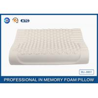 Buy cheap Massage Wave Contour Latex Foam Bed Pillows Organic Pillows with Tencel Pillow Cover from wholesalers