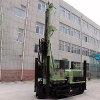 China Green Pile Drilling Machine / SLY485 200 Meter Rock Drilling Rig High Speed Crawler Mounted on sale