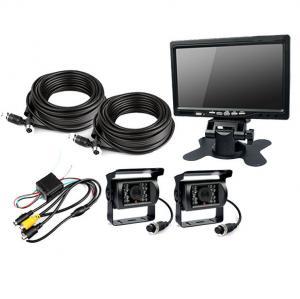 """Buy cheap HD 7"""" 480P Night Vision Rear View Camera Rear Vision Camera DC12V ~ 24V product"""