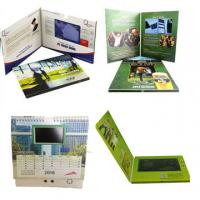 Buy cheap 5 Inches LCD Video Card , LCD Screen Greeting Card 4C Printing With Media Player from wholesalers