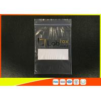 Quality Industrial Grade Clear Plastic Ziplock Poly Bag For Electronic Products With Zipper for sale