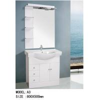 15mm high grade MDF material small bathroom sink vanity , simple Bathroom vanity / Cabinet 0.3 CBM
