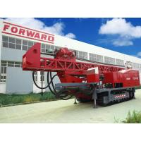 Quality Crawler mounted Top Drive Oilfield workover Drilling Rig with borehole diameters of 3.5 ″to 47″ for sale