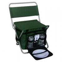 China Folding Chair with Cooler bag (Picnic bag Set)--camping luggage set on sale