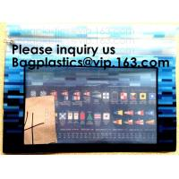 Buy cheap Manufacturer Customized Transparent Pvc Office File Bag With Slider Zip, Ziplock from wholesalers
