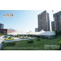 Buy cheap 30m Span Width High Peak Tent With Glass Walls For Auto Show / Celebration from wholesalers