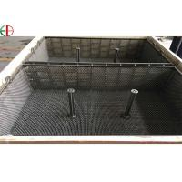 Quality 1.4849 Heat Treatment Furnace Wire Mesh Basket Iron Forging Furnace Trays And Baskets EB3197 for sale