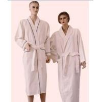 Buy cheap 100% cotton waffle&towelling bathrobe product