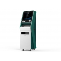 China Self Service Payment Kiosk Machine With A4 Printer And Credit Card Reader on sale