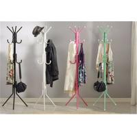 Quality Colorful Floor Standing Storage Rack Shelf Clothes / Hat / Coat Rack Hanger Stand for sale